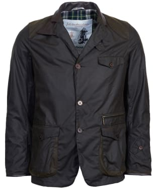 Men's Barbour Icons Beacon Sports Waxed Jacket - Olive