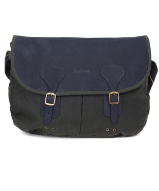 Barbour Icons Wax Leather Tarras Bag