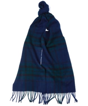 Barbour Elwood Scarf - Black Watch Tartan