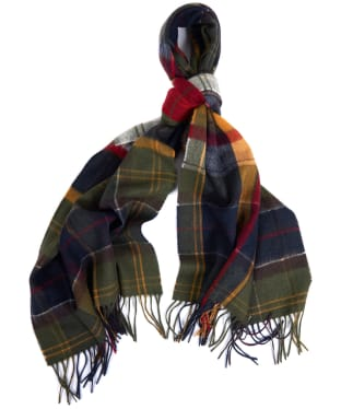 Barbour Faded Tartan Scarf - Barbour Classic