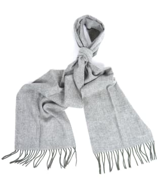 Barbour Herringbone Double Faced Scarf