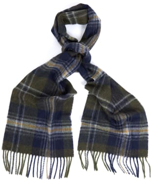 Barbour Rothwell Scarf - Olive / Navy