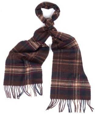 Barbour Rothwell Scarf - Rust / Brown