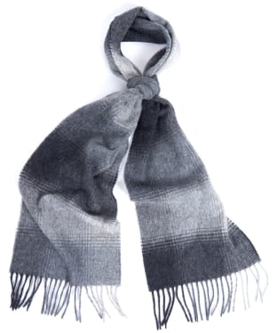 Barbour Thorne Scarf - Grey / Charcoal