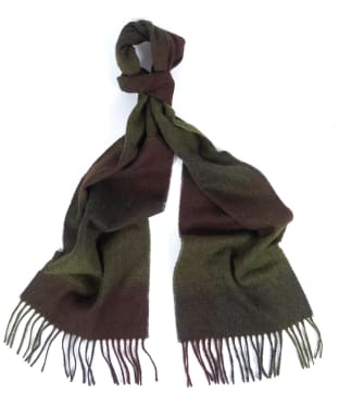 Barbour Thorne Scarf - Olive / Brown
