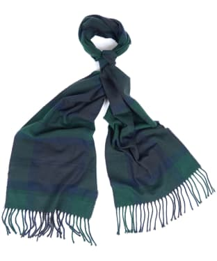Barbour Galingale Tartan Scarf - Black Watch