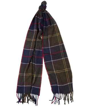 Barbour Galingale Tartan Scarf - Barbour Classic