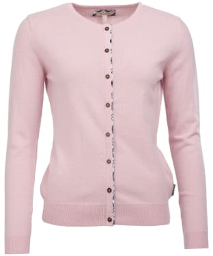 Women's Barbour Pendle Cardigan - Rose