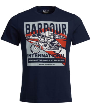 Men's Barbour International Perform Tee - Navy
