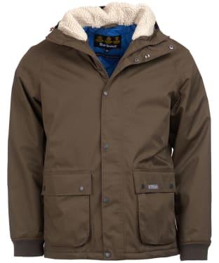 Men's Barbour Northway Waterproof Jacket - Dark Olive