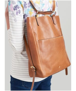 Women's Joules Hallaton Leather Backpack
