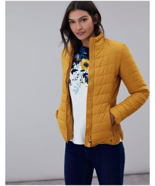 Women's Joules Harrogate Padded Jacket - Caramel