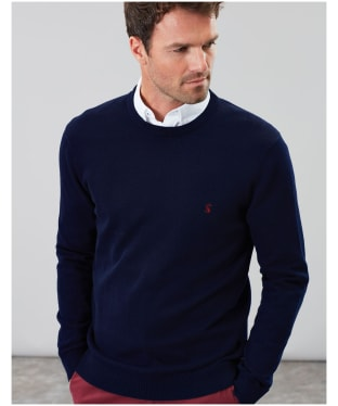Men's Joules Jarvis Crew Neck Jumper - French Navy
