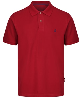 Men's Joules Woody Classic Fit Polo Shirt - Deep Red