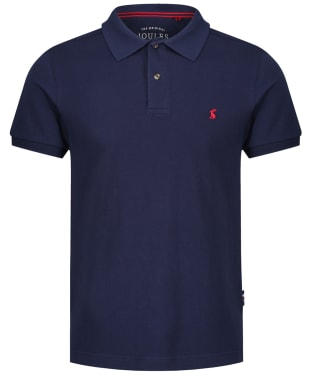 Men's Joules Woody Slim Polo Shirt - French Navy