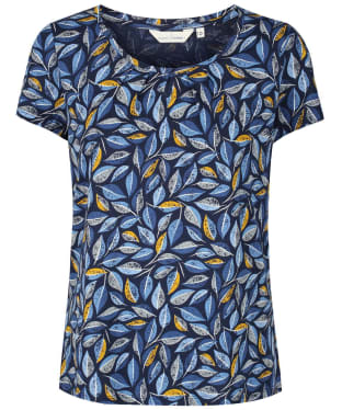 Women's Seasalt Appletree Top - Embroidered Leaves Skipper