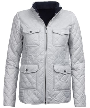 Women's Barbour Weymouth Quilted Jacket - Ice White