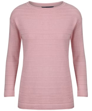 Women's Crew Clothing Salcombe Jumper - Rose Pink