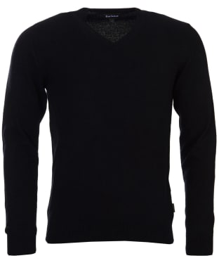 Men's Barbour Harrow V-neck Sweater - Black
