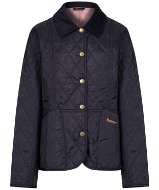 Girl's Barbour Summer Liddesdale Quilted Jacket, 2-9yrs - New Navy