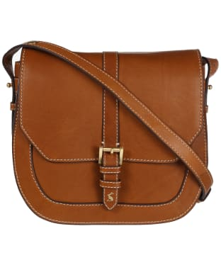Women's Joules Saddle Leather Bag - Tan