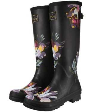 Women's Joules Welly Print Wellington Boots