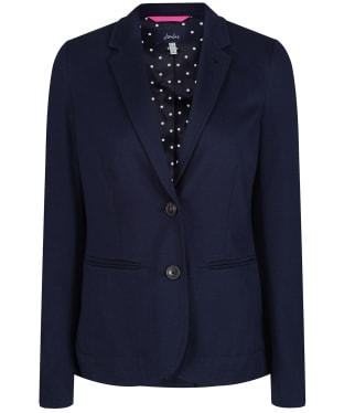 Women's Joules Mollie Jersey Blazer - French Navy