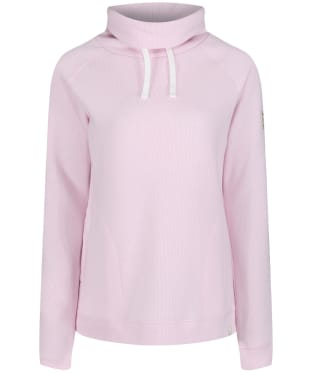 Women's Joules Nadia Ribbed Sweatshirt - Soft Pink