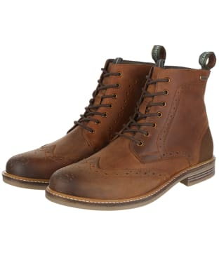 Men's Barbour Belsay Boots - Dark Tan