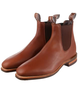 R.M. Williams Comfort Craftsman Boots - Yearling leather, comfort rubber sole - G (Regular) Fit - Caramel