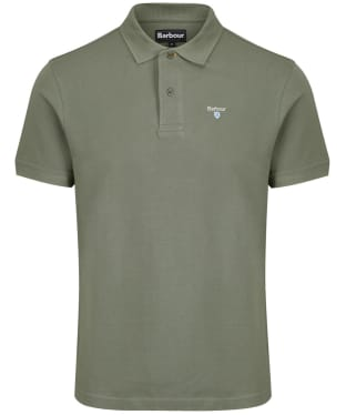 Men's Barbour Sports Polo 215G - Agave Green