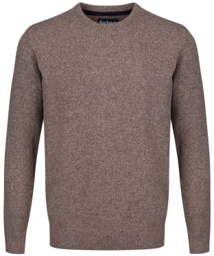 Men's Barbour Tisbury Crew Neck Sweater - Sand