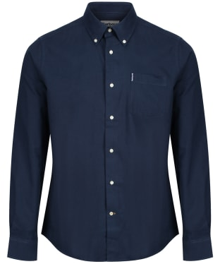 Men's Barbour Oxford 1 Tailored Shirt - New Navy