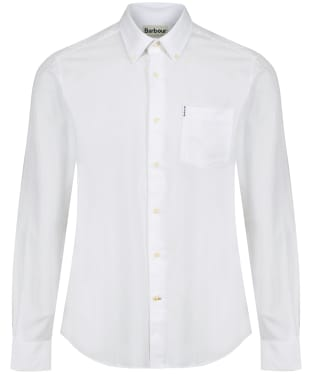 Men's Barbour Oxford 1 Tailored Shirt - New White