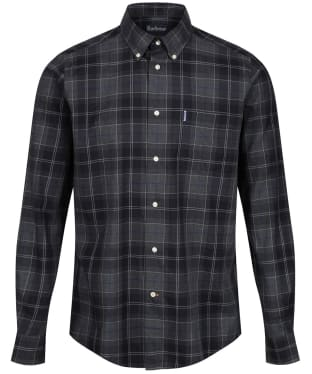 Men's Barbour Wetheram Shirt - New Graphite
