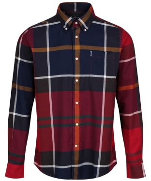Men's Barbour Dunoon Shirt - New Red