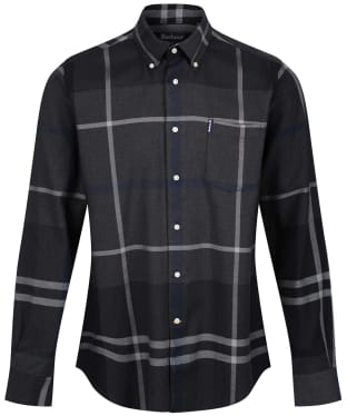 Men's Barbour Dunoon Shirt - New Graphite
