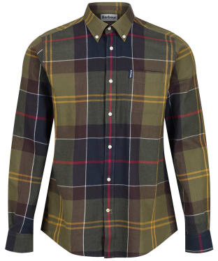 Men's Barbour Tartan 5 Tailored Shirt - New Classic Tartan