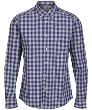 Men's Barbour Endsleigh Gingham Shirt - Mid Grey