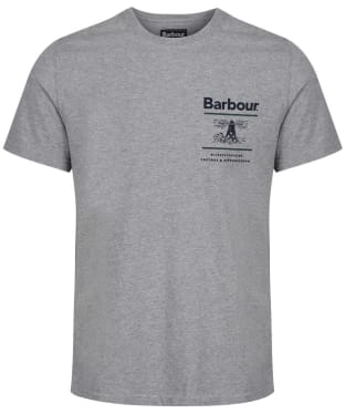 Men's Barbour Reed Tee - Grey Marl