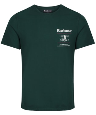 Men's Barbour Reed Tee - Seaweed