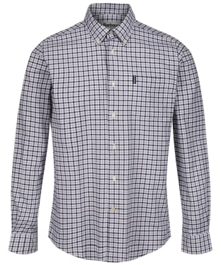 Men's Barbour Gingham 11 Tailored Shirt - Grey