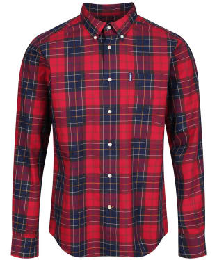 Men's Barbour Wetheram Shirt - New Red