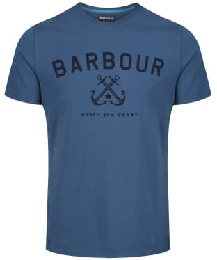 Men's Barbour Asher Tee - Deep Sea