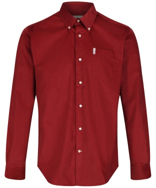 Men's Barbour Cord 1 Regular Shirt - Rust