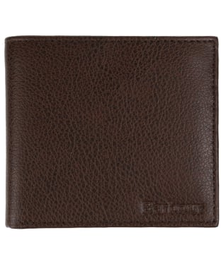 Men's Barbour Peterlee Leather Billfold Coin Wallet