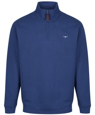 Men's R.M. Williams Mulyungarie Fleece Sweatshirt - Sea Blue