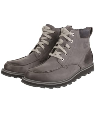 Men's Sorel Madson™ Moc Toe Waterproof Boots - Quarry
