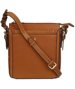 Women's Joules Dunton Leather Cross Body Bag - Tan
