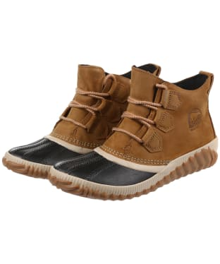 Women's Sorel Out N About Plus Leather Boots - Elk